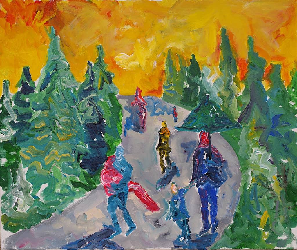 Walk in the forest / Разходка в гората - 2019